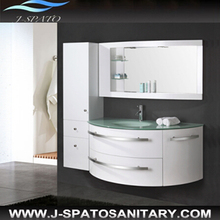 Wall mounted white bathroom cabinet JS-8600