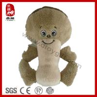 BSCI factory Stuffed mushroom vegetables sensory plush baby toy
