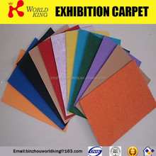 Nonwoven floral carpets use for fair