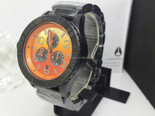 2015 new cool men chronograph watch with special design colorful watch for man all small hand real work and nice looking also