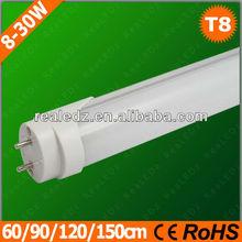 Manufacturer direct good performance AC100-240V DC12-24V G13 tube8 new led tube with CE&RoHS