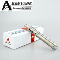 Rofvape A Plus 3000mah tank atomizer 2.4ml 0.3ohm ce4 clearomizer vaporizer reviews