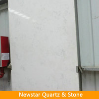 Newstar statuary quartz slab,river white quartz slab,acrylic slab