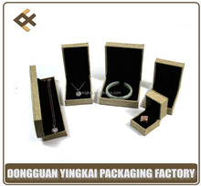 China OEM plastic fancy paper jewelry box for promotional wholesale
