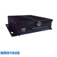 MOBILE DVR FOR BUS WITH 4 CH RECORDING, 128G SD STORAGE