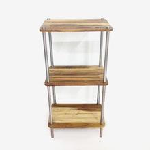 tiers 3 utilidade pé de canto prateleira de madeira