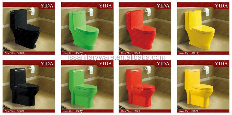 Low Price Bathroom Sanitary Ware Color Toilet,Ceramic Wc Toilet Bowl ...
