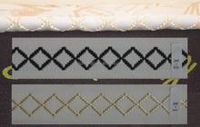 Polyester X pattern bedding furniture mattress tape(X-1)