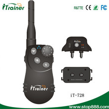 Newly electronic remote shock puppy trainer for dogs iTrainer iT-728
