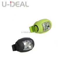 USB recharge new bicycle led tail warning light