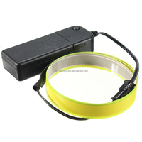 High Quality 60cm*14mm Colorful Electroluminescent Tape EL Tape EL Wire AA Battery Power 8 Colors