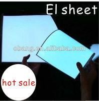 Excellent brightness save power flashing EL phosphor sheet