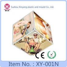 4 inch sweet memory cube frames photo, rotating photo picture frames