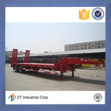 china best sale low bed truck trailer kingpin designed suitable for all kinds of tractors
