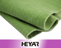 Nature Green 4 Way Stretch Jacquard Corduroy Fabric and Textile