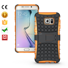 2015 TPU+PC Hybrid Heavy Duty Armor cell phone cover case china supplier For samsung Galaxy S6 edge case