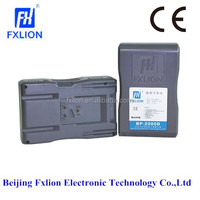 14.8V 6.6Ah 100Wh BP-2000D Rechargeable Broadcast Camera Battery With V Mount