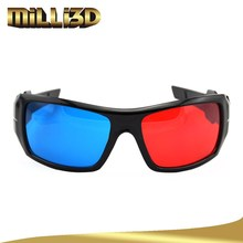 2015 design red cyan blue film video with 3d glasses prices