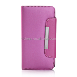 For Samsung Galaxy S5 Flip Case Horizontal Leather Wallet Case