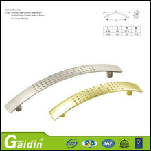 Fast production zinc kitchen cabinet flush pull handles