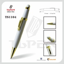 short fat promotion metal pen for hotel TS1104