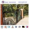 2015 The most popular gate: motorized garden fence gate sliding gate design