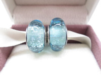 S925 Sterling Silver Ariel's Signature Color Charm Murano Glass Beads Fit European dora Bracelets necklaces & Pendant