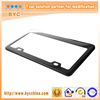 BYC Hot Selling Common Carbon Fiber License Plate Frame with High Quality and Long Using Time