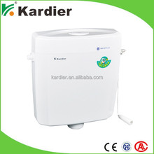 Top quality side single flush toilets, exposed cistern for sale