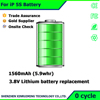 the cell phone battery for Apple Repair service parts For iPhone 5S battery replacement Li-ion Polymer battery