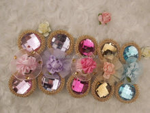 Fancy Rhinestone Hair bow Hairpins for girls