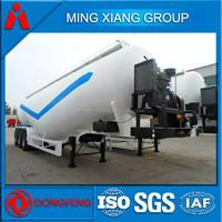 bulk powder material tanker semi trailer for sale bulk cement tank semi-trailer