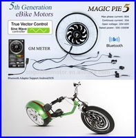 24V/36V/48V 250-1000W golden motor magic pie electric bicycle conversion kit,E bike conversion kit