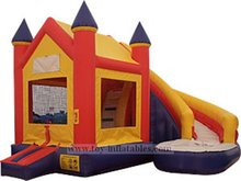 Beautiful professional inflatable water slide castle