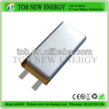 li-ion polyme battery cell / 1200mah 3.7v polymer li-ion battery cell