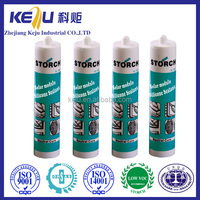 Structural Acetic cure silicone sealant, glue contact adhesive