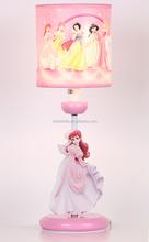 Zhongshan lighting factory toy lamp/light pink Shining Children wood Table Lamp