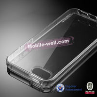 2014 New Arrival Mobile Phone Ultrathin transparent TPU Case for Apple iphone5/5s