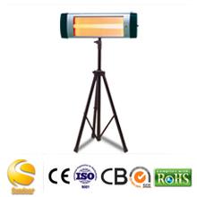 Cuarzo Calentador infrarrojo con impermeable IP55