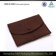 Jewelry Packing Manufacturer With Custom Logo Good Prices Fabric Bags For Jewellery