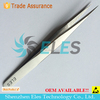 surgical tweezers stainless non magnetic--skype:elestech-sales3