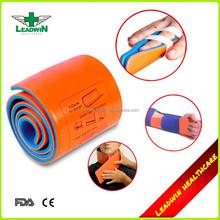 First aid use finger stabilizer splint