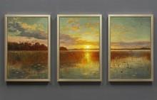 High quality cheap 3 piece canvas art, 5 piece canvas art