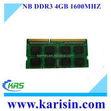 High speed ddr3 ram 2gb/4gb/8gb laptop memory