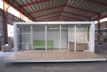 Mobile expandable container houses,openable container homes used as coffee shop