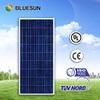 2015 Best Bluesun Brand High quality 12v 100w solar panel