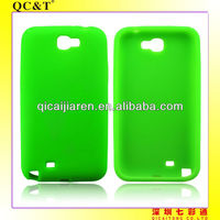 mobilephone silicon case for samsung galaxy note2/n7100