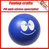 ant stress ball reliever,squeeze stress toy ball,pu smiley stress ball
