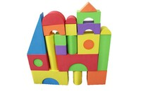 Education Toy High-Density EVA Foam Building Blocks 3.5cm with printing