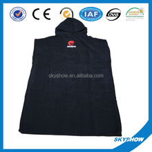 China wholesale high quality hooded towel poncho for adults